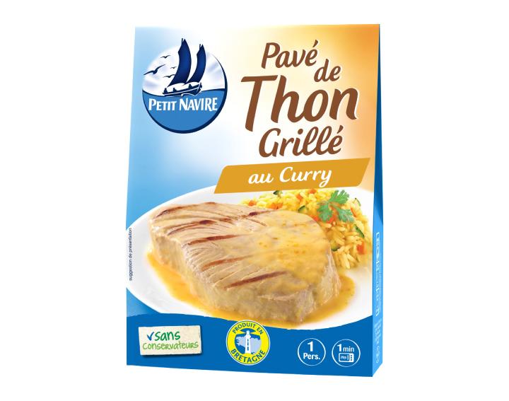 Pavé de Thon Grillé au Curry - 120g
