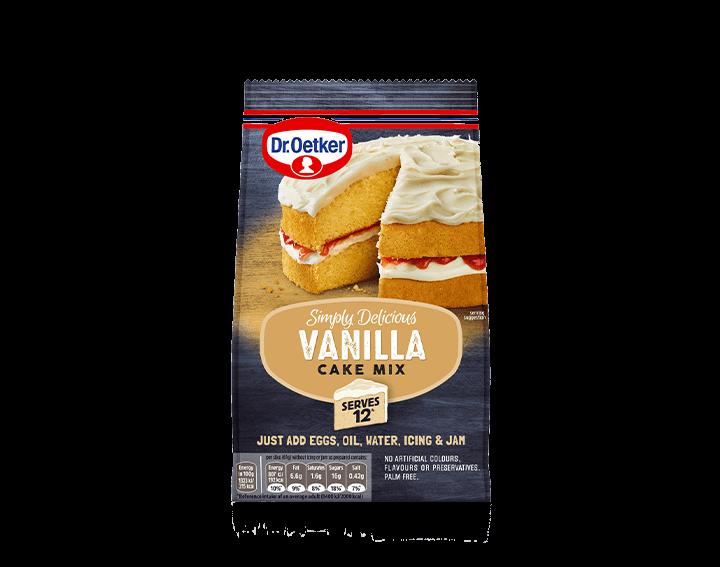 Vanilla Cake Mix 420g