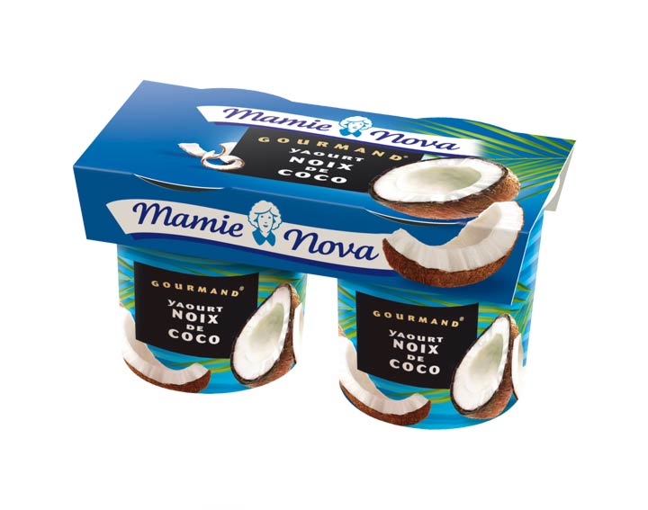 Yaourts Gourmand® Noix de Coco Mamie Nova