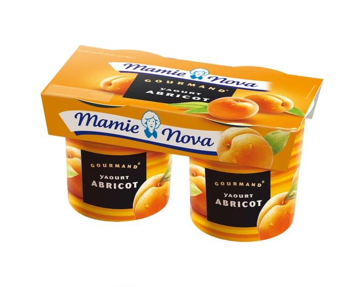 Yaourts Gourmand® Abricot Mamie Nova