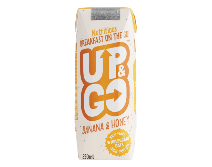 Up & Go Banana & Honey 250ml