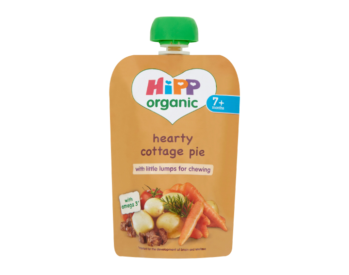 HiPP Organic pouch hearty cottage pie
