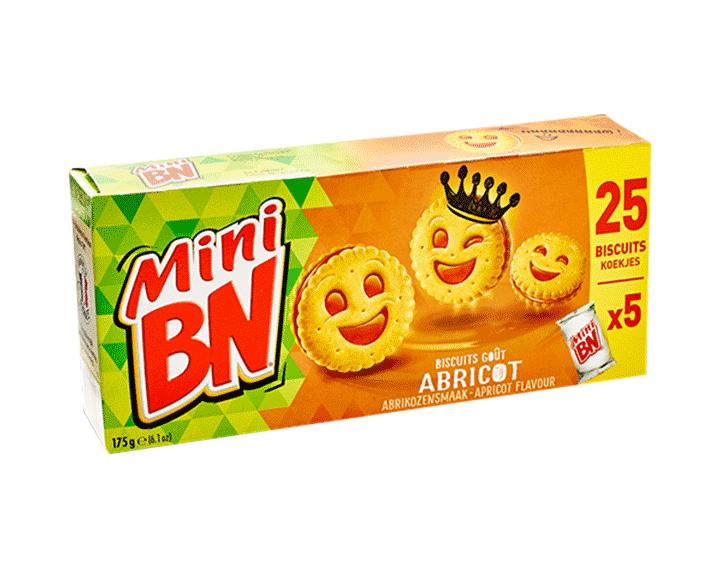 BN Mini Abrikoos 175g