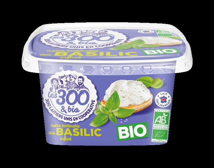 Notre tartinable au basilic infusé Bio