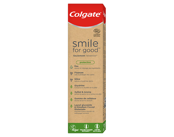 Dentifrice Colgate Smile For Good Protection