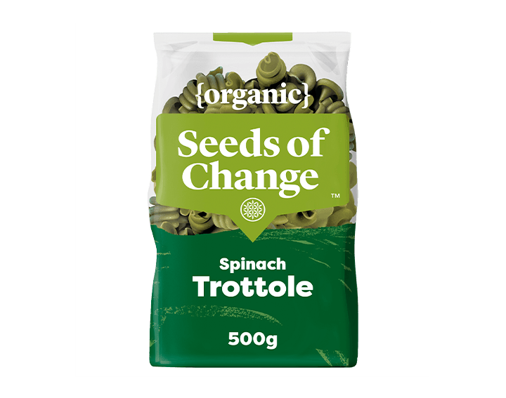 Spinach Trottole Pasta 500g