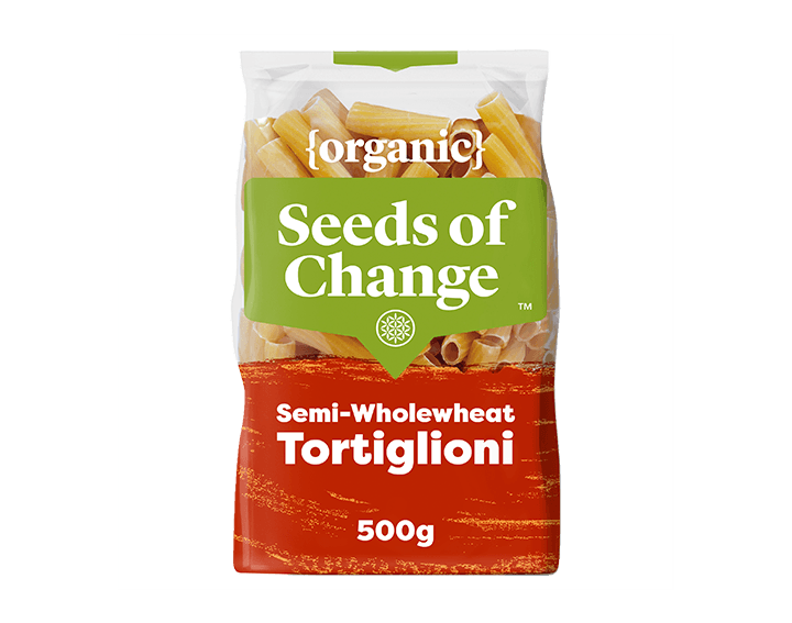Organic Semi-Wholewheat Tortiglioni 500g