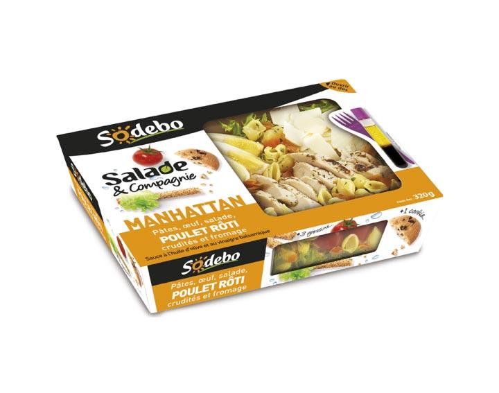 Sodebo - Salade & Compagnie Manhattan