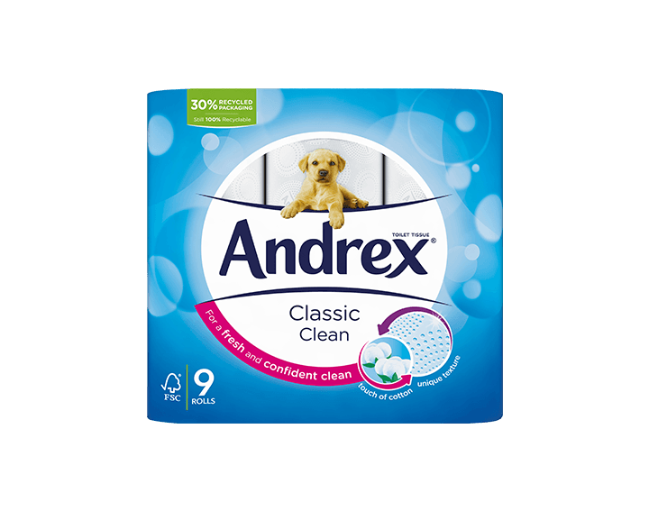 Andrex® Classic Clean 9 roll