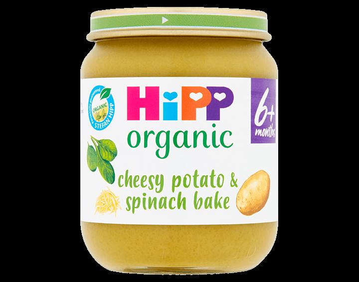 Cheesy Potato & Spinach Bake 125g