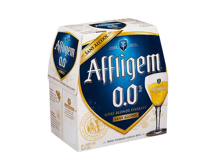 Affligem 0.0 bière abbaye sans alcool 6x25cl