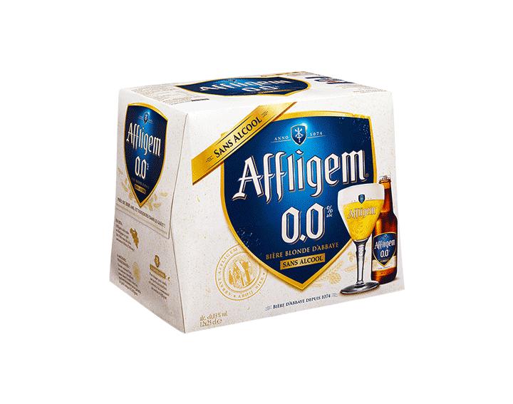 Affligem 0.0 bière abbaye sans alcool 12x25cl