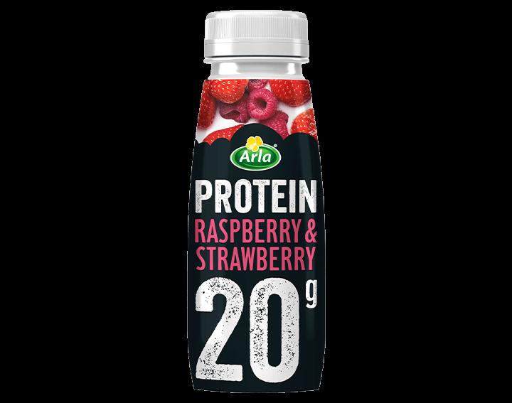 Strawberry & Raspberry milkshake 225ml