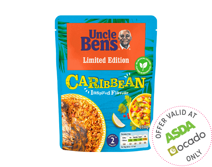 Caribbean Inspired Microwave Rice 250g