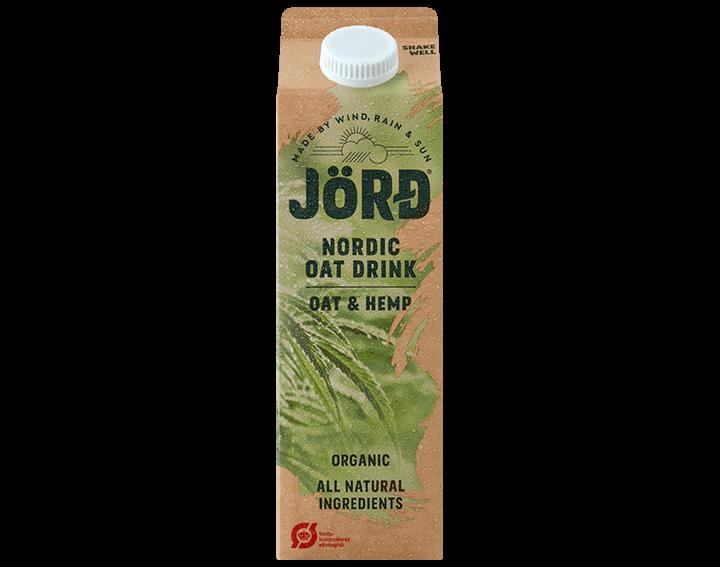 Jörd Organic Oat & Hemp Drink 1L