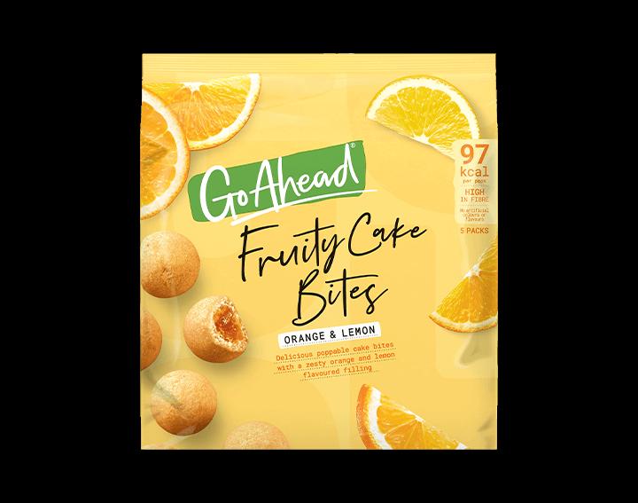 Fruity Cake Bites Orange & Lemon 5x27.3g