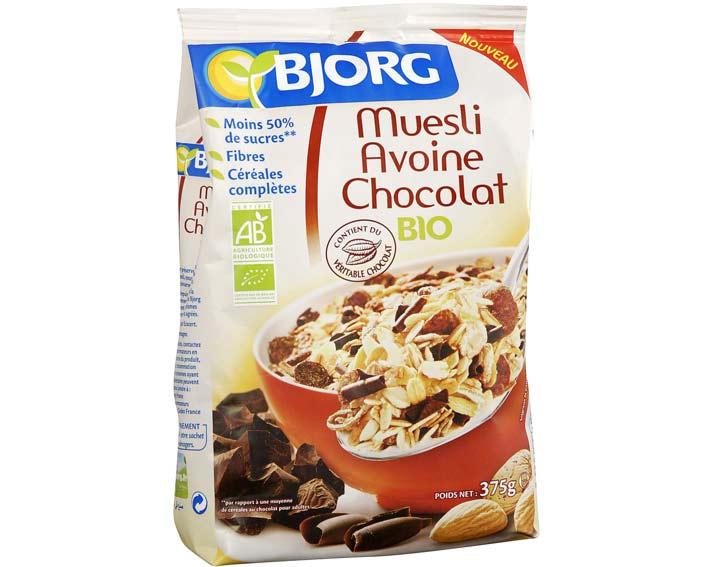 Muesli Avoine Chocolat