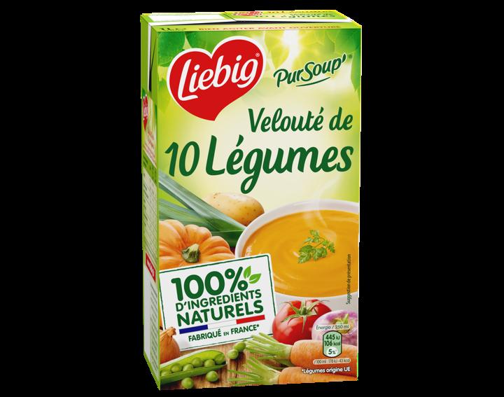 Velouté de 10 légumes 1L