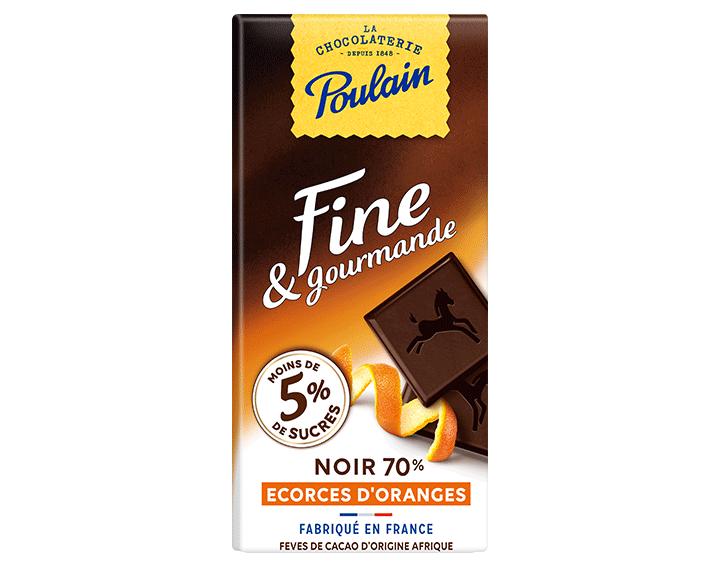 Fine & Gourmande Noir Ecorces d'oranges