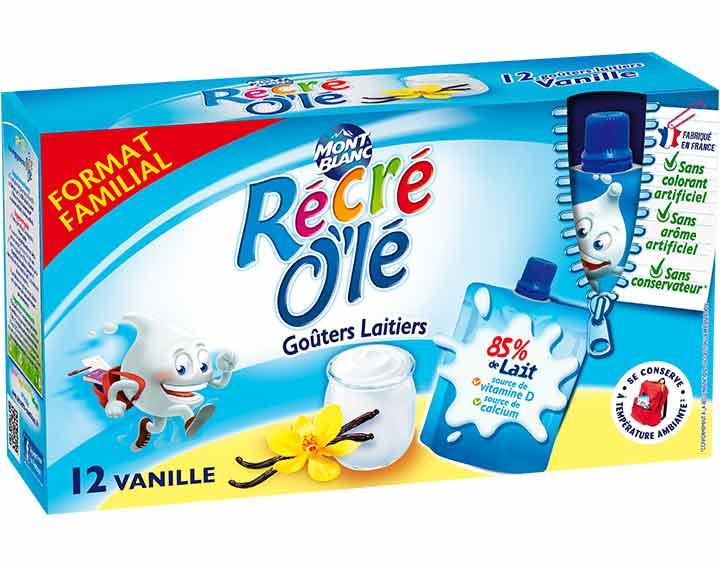 Récré O'lé Vanille x12