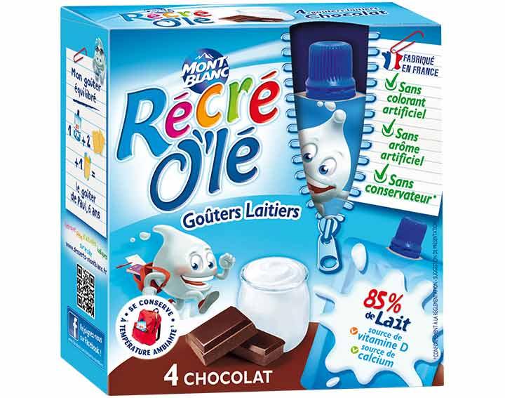 Récré O'lé Chocolat x4
