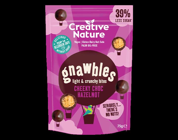 Gnawbles Cheeky Choc Hazelnot Share Bag 75g