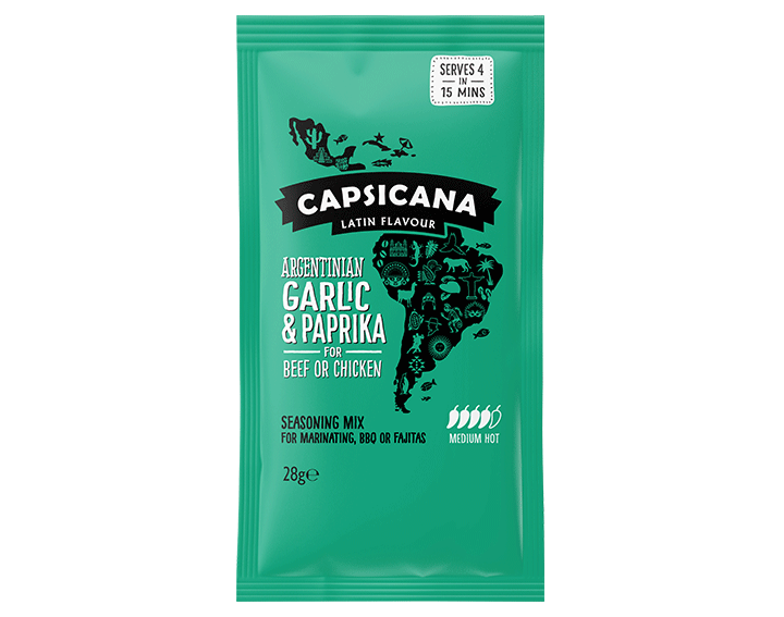 Argentinian Garlic & Paprika seasoning mix