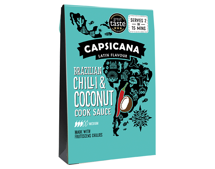 Brazilian Chili and Coconut Cook Sauce