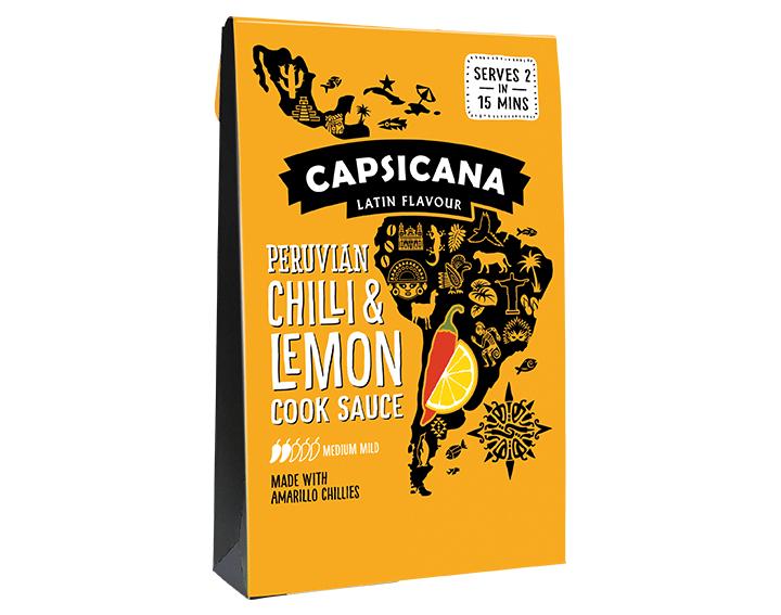 Peruvian Chili and Lemon Cook Sauce