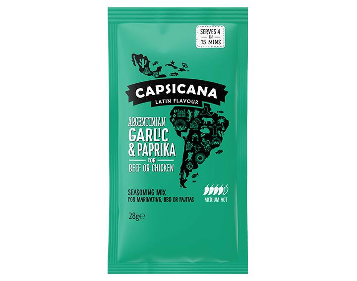 Argentinian Garlic & Paprika seasoning mix