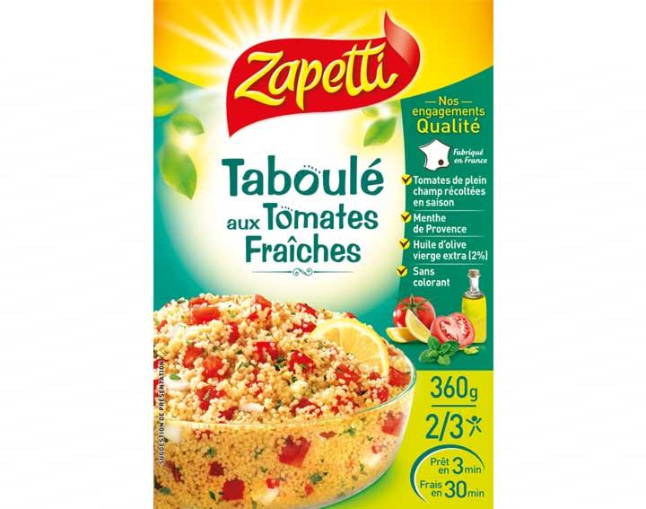 Taboulé aux Tomates Fraîches 360g