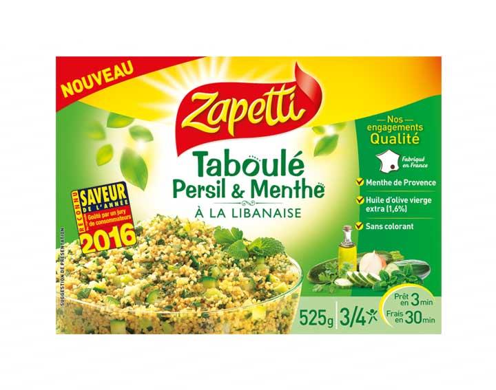 Taboulé Persil & Menthe à la libanaise 525g