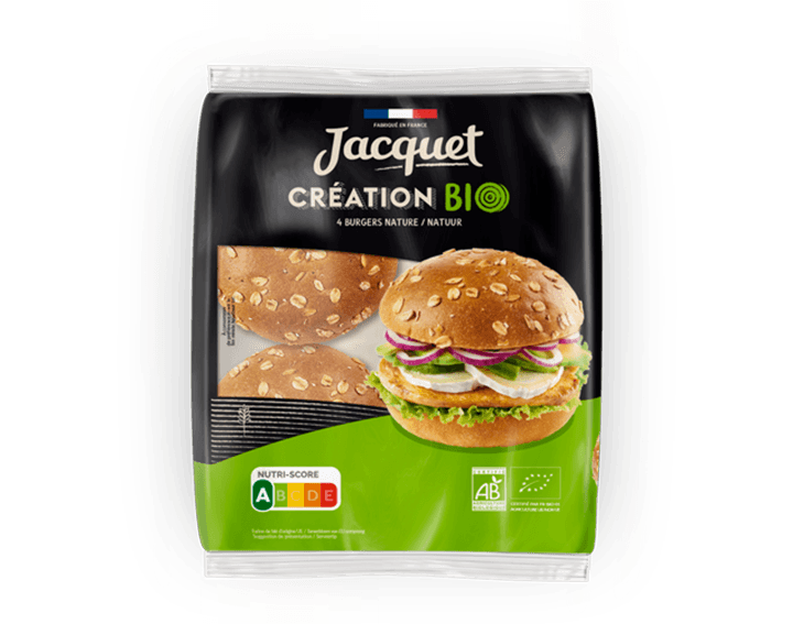 Création Burger BIO x4