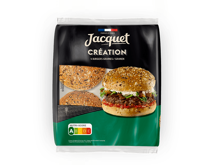 Création Burger Graines x4