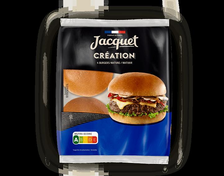 Création Burger Nature x4