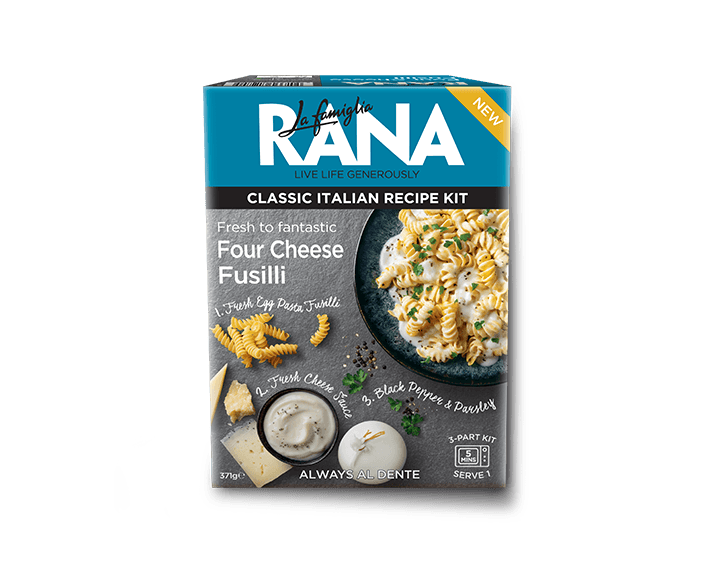 Four Cheese Fusilli 371g