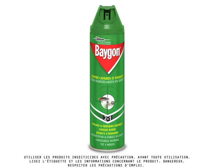 Baygon® aérosol anti-rampants 400ml