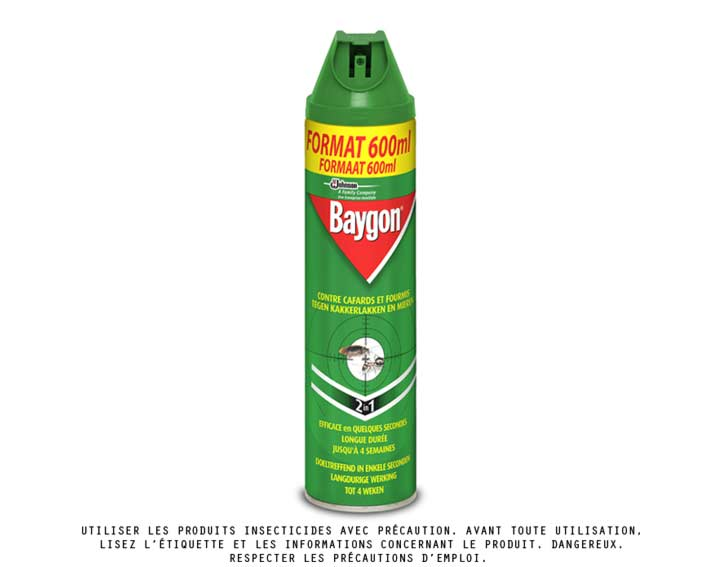 Baygon® aérosol anti-rampants 600ml