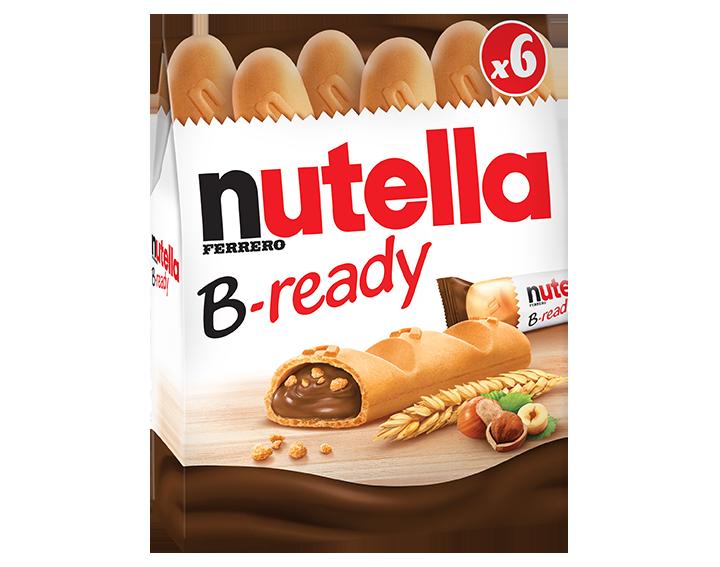 Nutella® B-ready 6 pièces (132g)