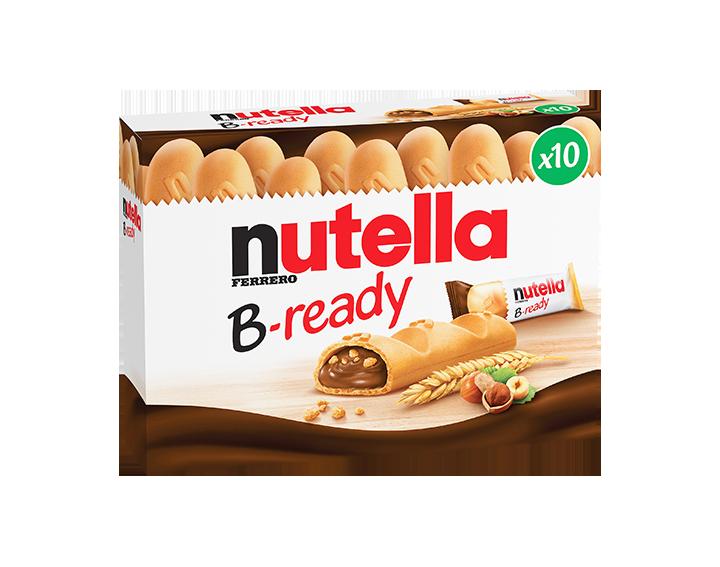 Nutella® B-ready 10 pièces (220g)