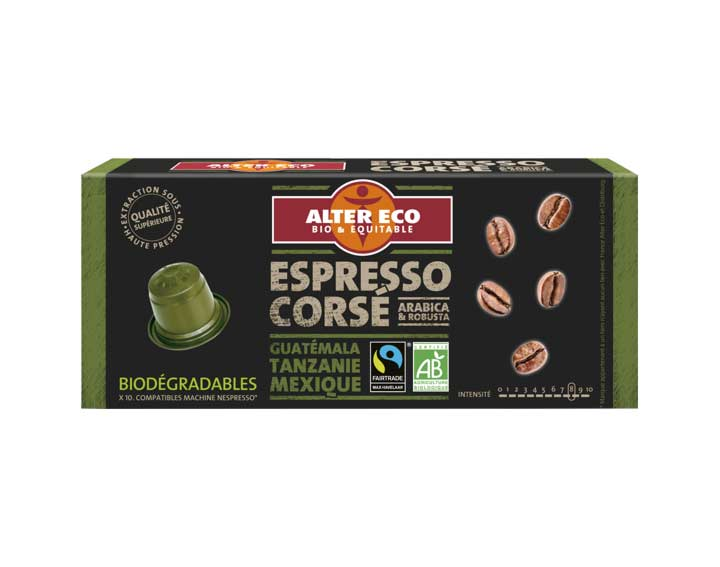 Capsules Espresso Corsé
