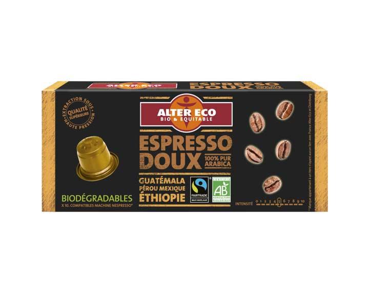 Capsules Espresso Doux