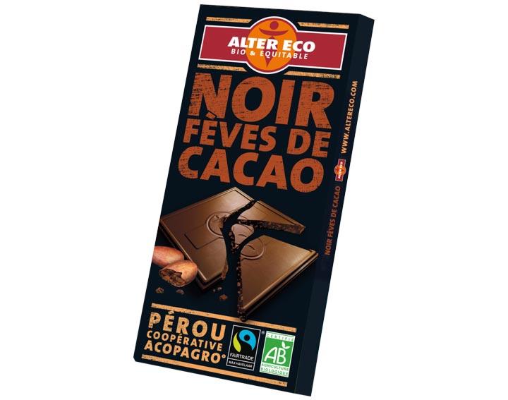 Chocolat Noir Fèves de Cacao