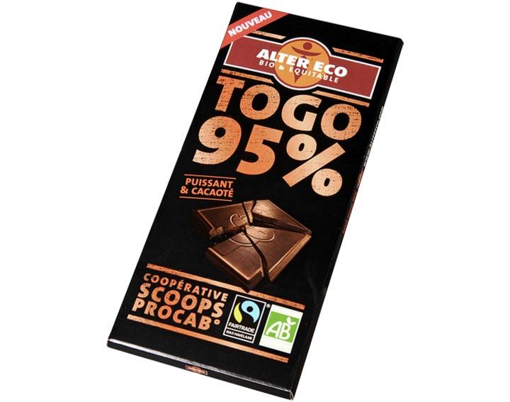 Chocolat Noir Togo 95%