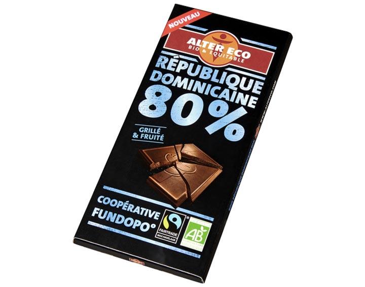 Chocolat République Dominicaine 80%
