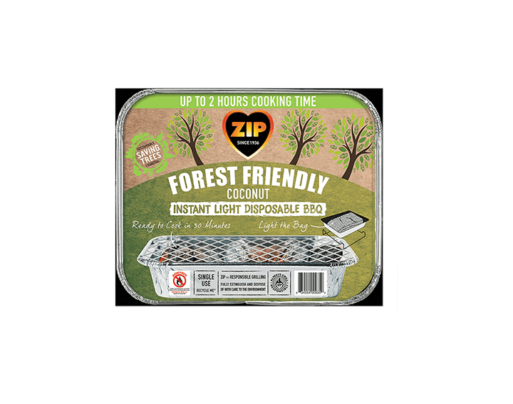 Forest Friendly Disposable BBQ Tray
