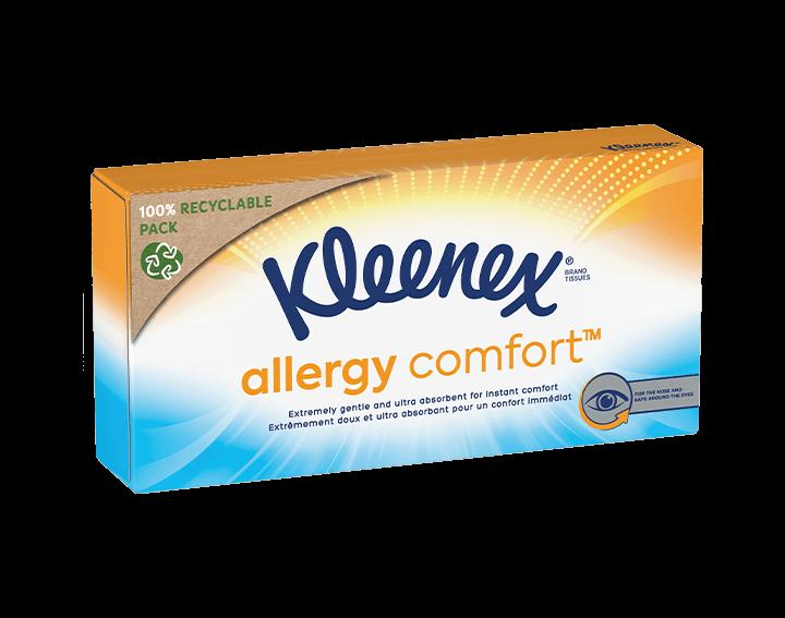 Kleenex® Mouchoirs Allergy Comfort™ Boîte x56