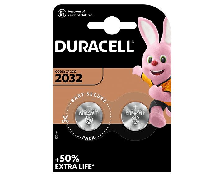 Duracell 2032 2 piles