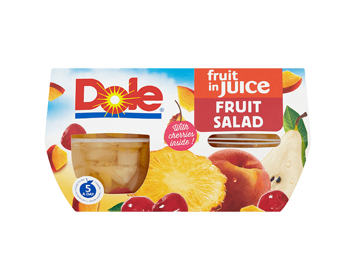 Fruit Salad with Cherry in Juice 4x113g