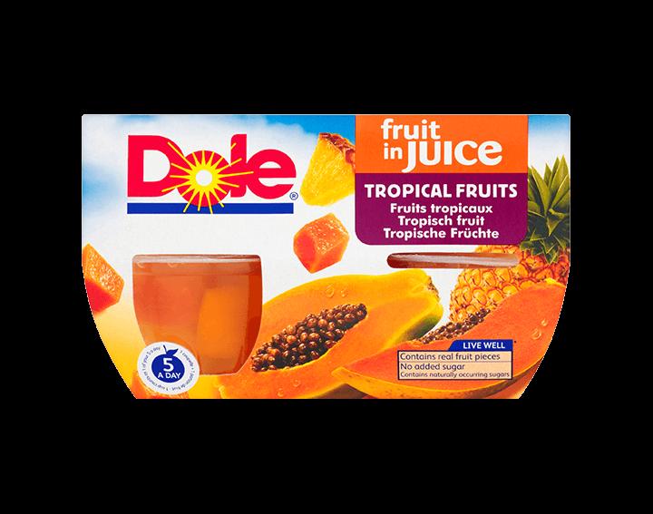Tropical Fruit in Juice 4x113g